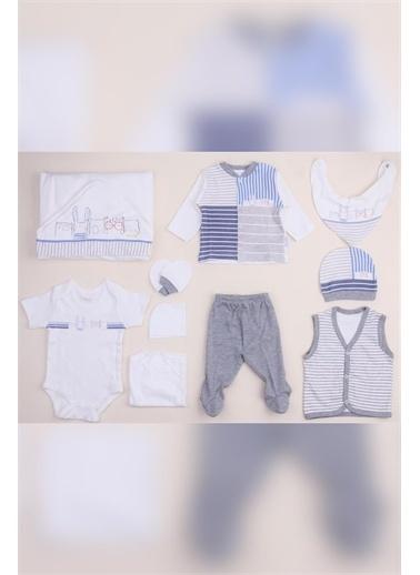 Bebbek Nenny Baby Animals Boys Erkek Bebek 10'lu Hastane Çıkışı NB-121 Renkli